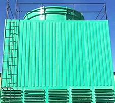 方形玻璃钢冷却塔中无填料会出现哪些故障
